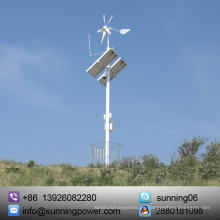 Sunning High Efficiency Wind Solar Farm System