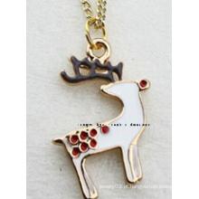 Jóias de natal / natal colar / pingentes de natal (xjw13351)