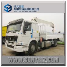 10t Kranwagen Sino HOWO 4X2 LKW Auflieger Kran