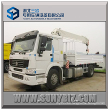 10t Crane Truck Sino HOWO 4X2 Truck Mounted Crane