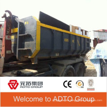 High quality 5ft height roro hook-lift recycling roro hooklift bin
