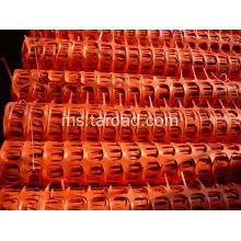 Pagar Roadway Snow Barrier Orange plastik