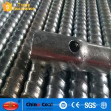 Rosca de ancoragem de rosca / ming rock bolt usado em declive e túnel