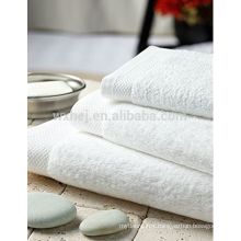 Lucury hotel bath towel Set of 4, 100% Cotton, White,made in china