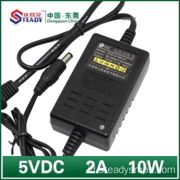 5VDC 2A Jenis Desktop Power Adapter