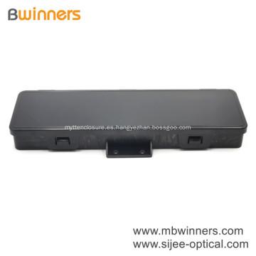 Caja de conexiones pequeña Montaje en pared Caja de plástico 2 puertos