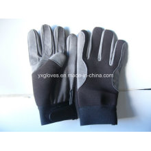 Work Glove-Synthetic Leather Glove-Industrial Glove-Safety Glove-Labor Glove-Gloves