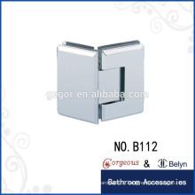 135 degree bevel hinge glass-glass bathroom hardware