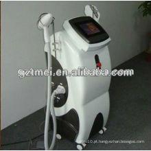 E luz (IPL + RF) remoção de cabelo máquina ipl com remoção de tatuagem de laser Nd Yag