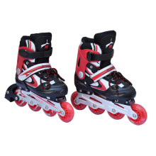 Semi-Soft Sports Red Inline Skate