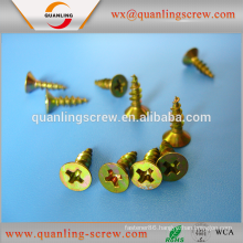 China wholesale custom flat head hexagonal flange washer head chipboard screw