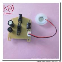 Transductor de sensor de humedad atomizante