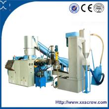 PE, máquina da granulação do PP Extrusor de único parafuso