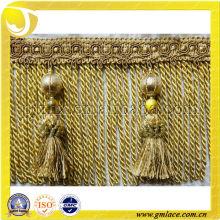 Los ajustes al por mayor de la manera para la decoración de los muebles del amortiguador de la cortina, los ajustes de la franja del lingote