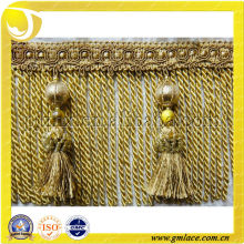 Wholesale fashion trims for curtain cushion furniture decoration,bullion fringe trims