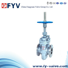 ANSI Stainless Steel Gate Valve Without Diversion Hole
