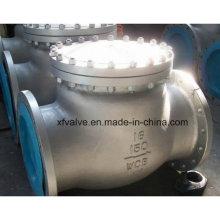 Robinet de retenue pivotant à extrémité de bride en acier au carbone de 150 lb
