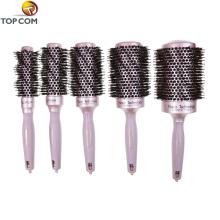 Пользовательский логотип парикмахерская щетка для волос с распылительным насосом