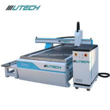 Router de madeira do CNC da máquina de gravura de 4 linhas centrais