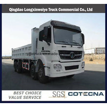 Beiben V3 8X4 375HP camion à benne basculante 12 roues camion à benne basculante