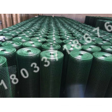 green coated pvc coated welded wire mesh