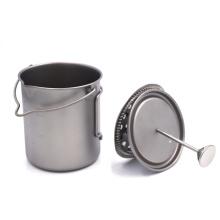 French Coffee Mug 750ml Titanium Press Mug