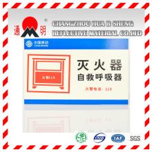 Para mascotas tipo anuncio grado reflexivo laminado Material para señales de publicidad, advertencia de la Junta (TM3100)