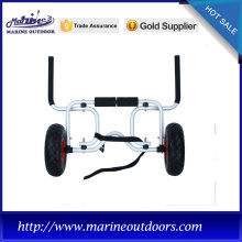 Balloon wheel boat trailer, Anodized dolly trailer, Outdoor marine kayak trailer