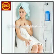 China fábrica de microfibra mulheres veste toalha de banho