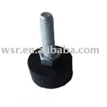 consolidado de goma a metal piezas de goma
