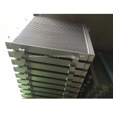 Échangeurs de chaleur à barre en aluminium pour compresseur d'air