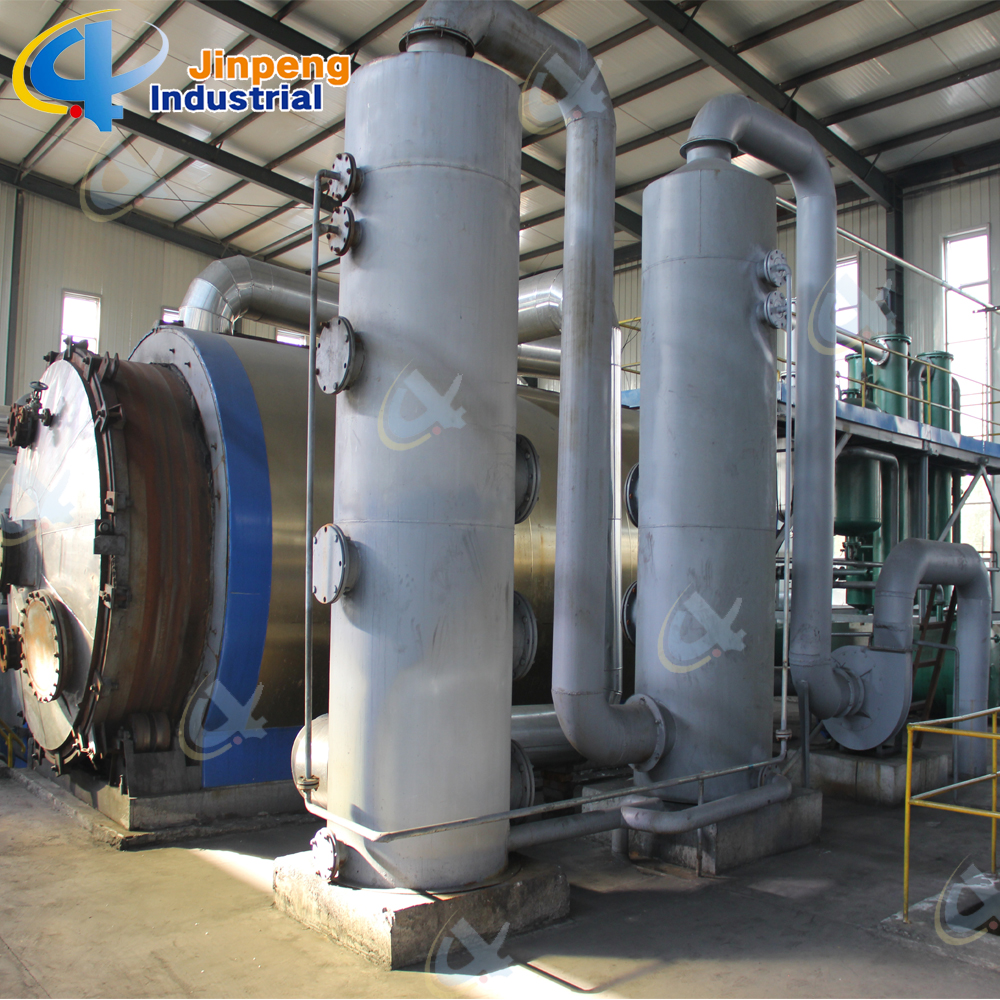 Waste Tire Pyrolysis System