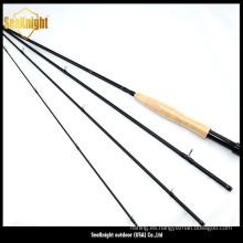 Barra de pesca, Cañas de pesca mosca, pesca con caña