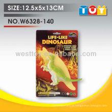 Brinquedo de plástico de animais selvagens de dinossauro de venda quente para criança