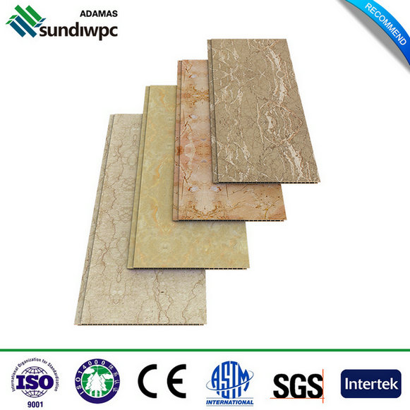Paneles de pared decorativos WPC impermeables