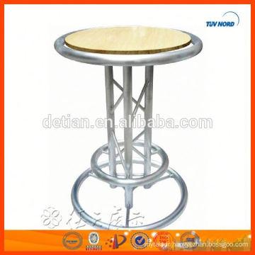 table basse pour le stand d'exposition
