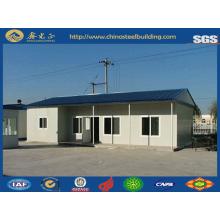 Prueba de fuego y aislamiento acústico Panel de cemento EPS casa prefabricada (JW-16261)