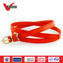 OEM Custom Fashion Ladies Leather Belt