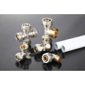 LB Guten top brass pipe fittings compression pex fittings for tool brass turned parts aluminum PVC fittings