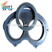 China mitsubishi concrete pump parts wear plate