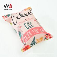foldable cotton linen tissue box cover