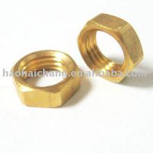 Cutstom Automatic Turned Brass Auto Hex Nut