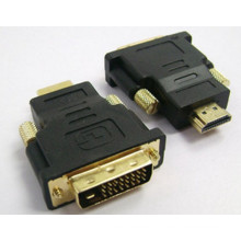 New DVI-D Male to HDMI Female Converter Adapter
