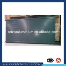 Conception de porte coulissante manuelle en aluminium