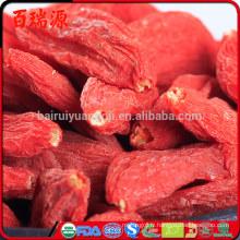Livraison gratuite croissante baies de goji Bairuiyuan Goji avantages de mes baies séchées
