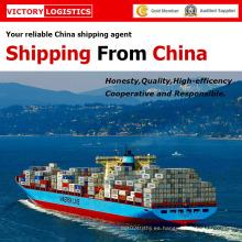 Mar la carga y logística de envío de China a todo el mundo