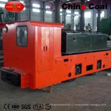Locomotive électrique de haute qualité 12t pour l'exploitation minière
