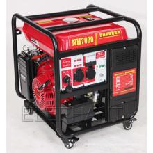 Générateur d'essence à onduleur à onde sinusoïdale numérique 7000W