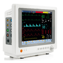 12,1 pulgadas Monitor paciente del multiparámetro Modular con pantalla táctil Monitor de signos vitales (FDA)