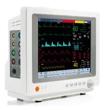 12,1-дюймовый сенсорный экран животное ветеринару ЭКГ ЭКГ ветеринарный монитор с FDA (V-C80)